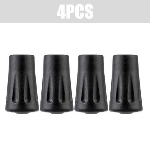 2//4Pcs Walking Stick Caps Pack Rubber Alpenstock Head Cover Tips End EA7X