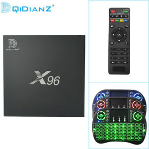 DQiDianZ X96 Android 6.0 4K HD S905X TV Set-top Box Caja