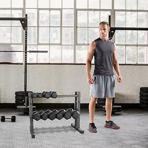 dumbbell rack stand weight shelf rack holder home gym