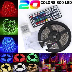 5M-300-RGB-LED-20-Colors-3528-Lights-Strip-Party-Decoration-SMD-String-Lights
