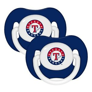 Texas-Rangers-Baby-Pacifier-Set-of-2-Officially-Licensed-MLB-BPA-Free