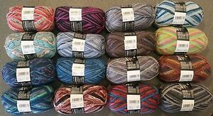 Sockenwolle-Wolle-H-amp-W-Comfort-Jubilaeum216-4-Fach-75-W-25-P-3-99-100gr