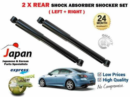 FOR MAZDA 6 GH 1.8 2.0 2.2 2.5 MZR 2007-/> 2X REAR LEFT RIGHT SHOCK ABSORBER SET