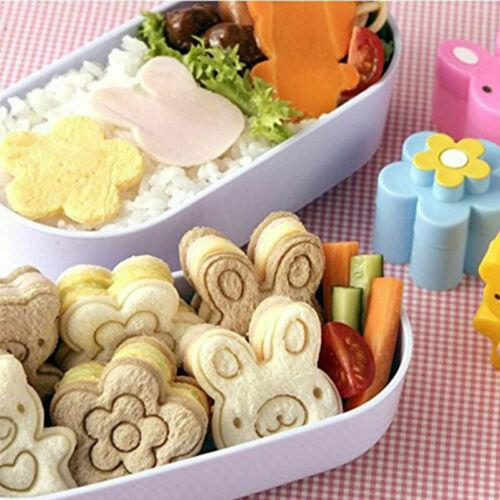 Mini Sandwich Cutters Formen für Kinder Kunststoff Sandwich Bento Cutters M C3A2