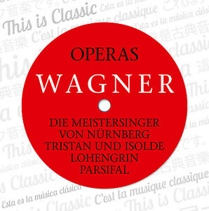 CD-Richard-Wagner-Opera-Complete-Works-12cds-With-Tristan-Und-Isolde