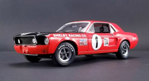 ACME 1968 Shelby Mustang #1 Jerry Titus Daytona Class Champion 1//18