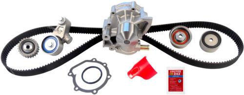 Engine Timing Belt Kit With Water Pump Gates TCKWP304 Engines ...