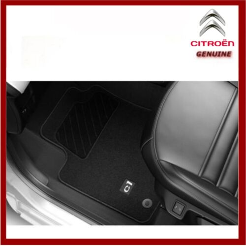 Front /& Rear 2014-Onwards Genuine Citroen C1 Premium Tailored Carpet Floor Mats