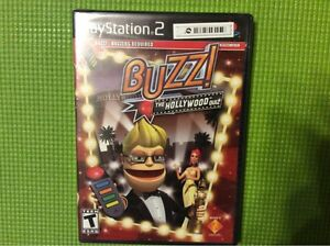 Buzz!: The Hollywood Quiz (game only)  (Sony PlayStation 2, 2008) PS2 BRAND NEW