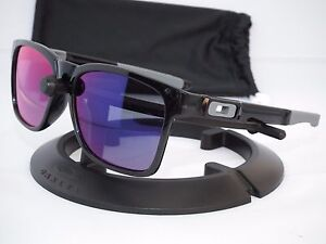 f254a06d5867d NEW OAKLEY CATALYST SUNGLASSES OO9272-06 Black Ink   Positive Red ...