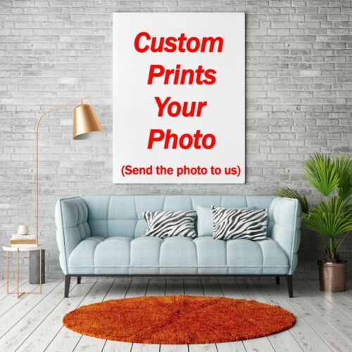 Custom Poster Any Size Art Fabric Print Canvas Silk Home Bar Office Wall Decor
