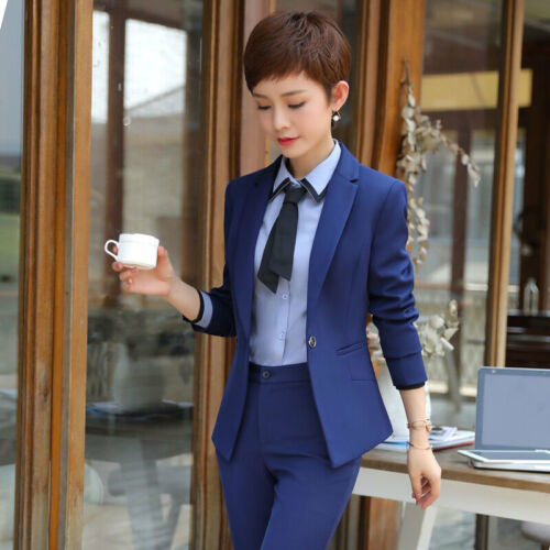 Business Office Sets Suits Slim Work 5pcs Formelle Kvinder Wear Kvinder Casual Ladies 5wAXRxU