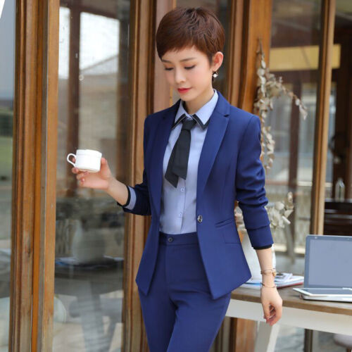 Sets Casual Wear Office Suits Kvinder Slim Kvinder Work Formelle 5pcs Ladies Business wqB8vHP