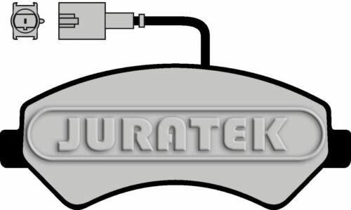 JURATEK FRONT SET OF BRAKE PADS FOR PEUGEOT BOXER 1997CCM 163HP 120KW