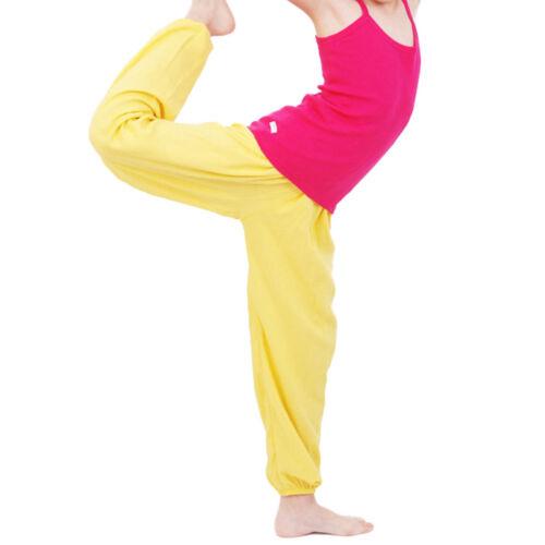 Kids Children Boys Girls Soose Pyjama Pants Yoga Bloomers Harem Trouser Sounge S