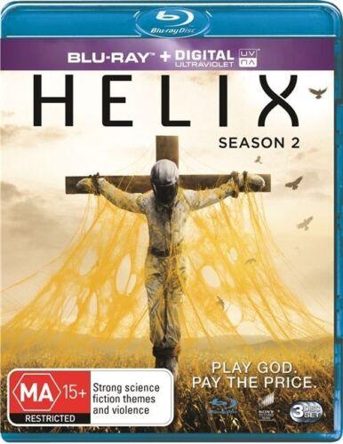 1 of 1 - Helix : Season 2 (Blu-ray, 2015, 3-Disc Set)