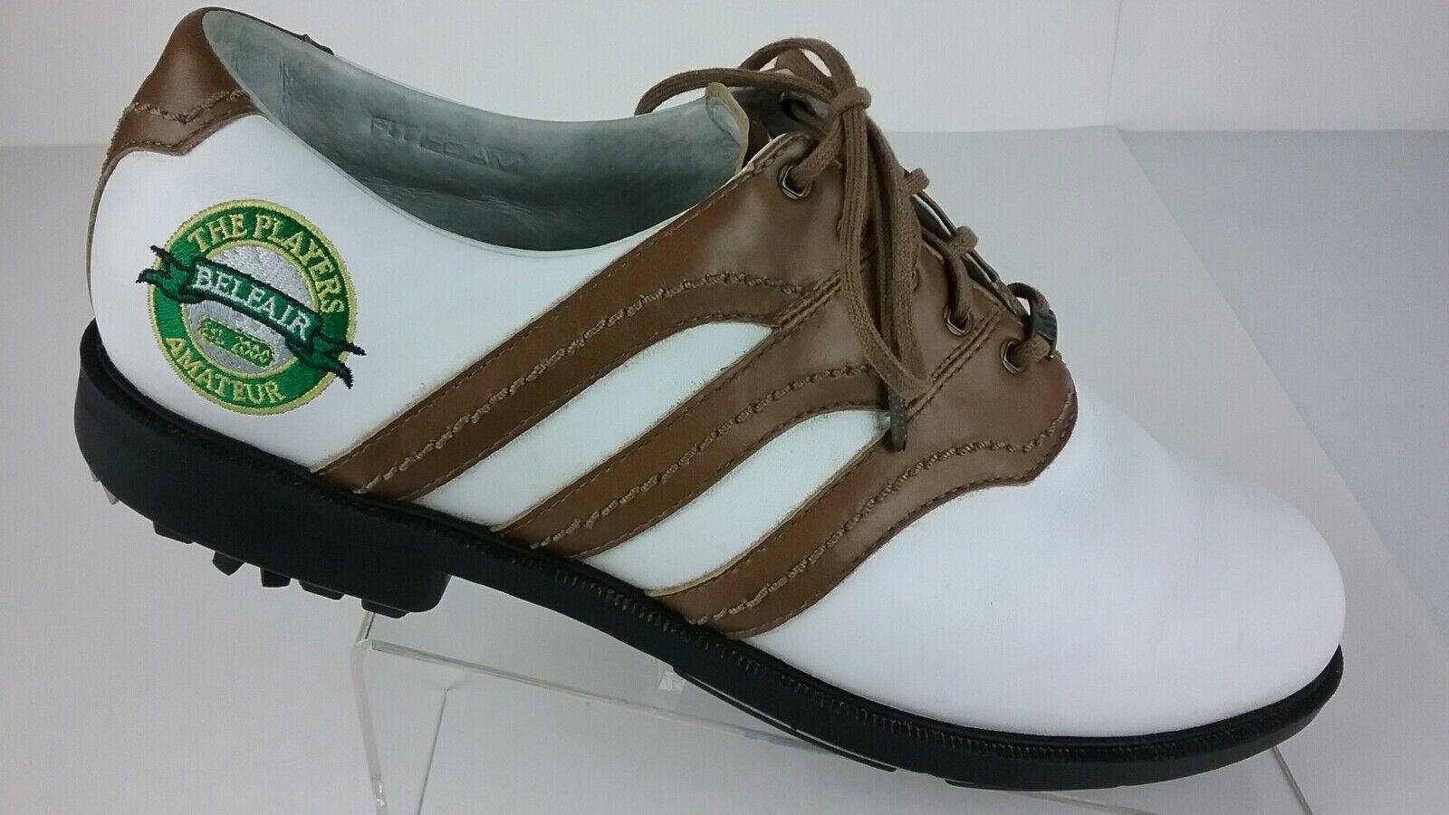 Adidas Traxion Men's 11.5 Golf Shoes Belfair The The Belfair Players Amateur 2000 R1-S 6 69f127