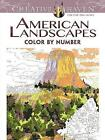 Creative Haven American Landscapes Color by Number Coloring Book by Diego Pereira (Paperback, 2015)