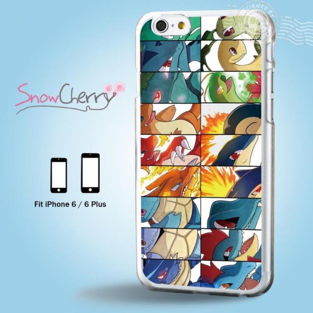 iPhone 6 6S Plus Case Cover Cartoon Collection Pokemon Generations C6035