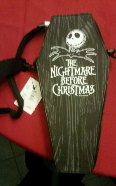 DLR - Nightmare Before Christmas Coffin Pin Bag HTF