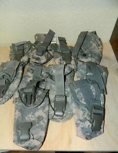 TWO (2) US Army Flashbang Grenade Pouch ACU Digital MOLLE II Flash Bang Utility