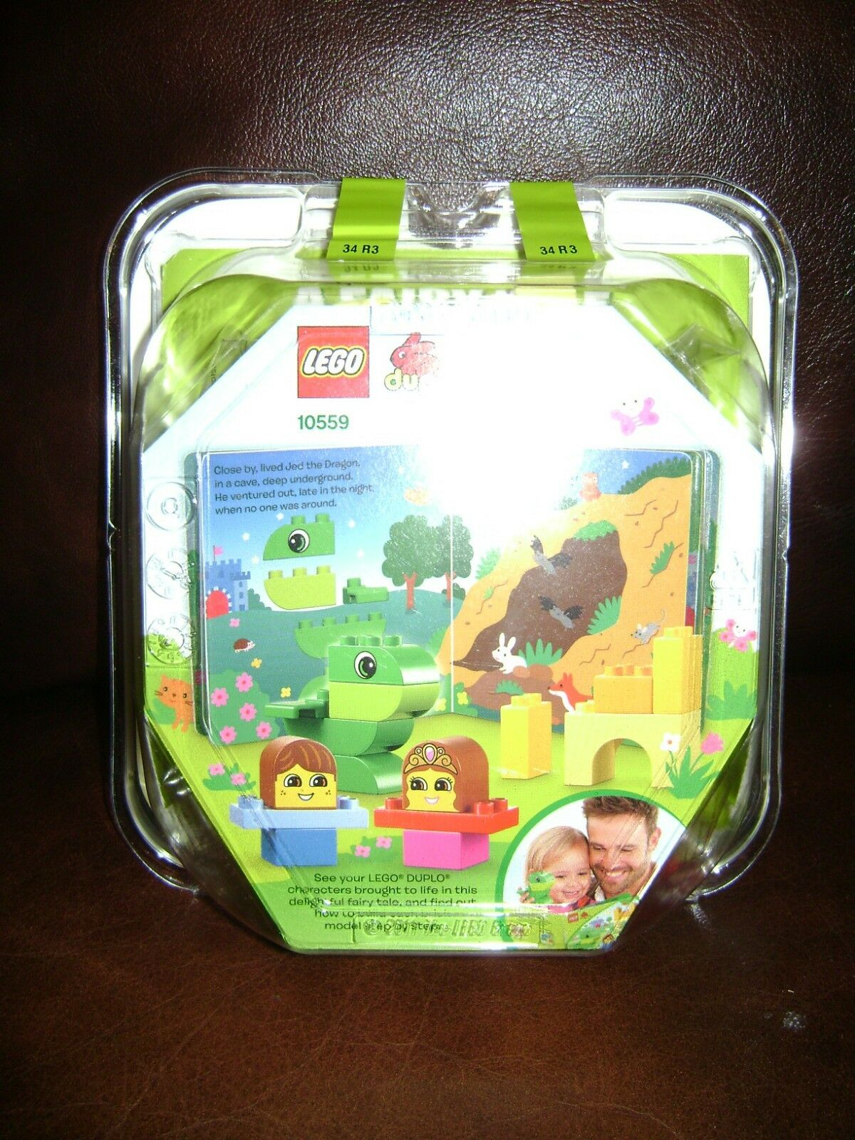 LEGO DUPLO 10559 READ & BUILD A FAIRY TALE with STORYBOOK RETIRED
