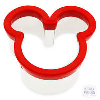 Disney Parks Mickey Mouse Icon Sandwich Cutter Bread Cookie