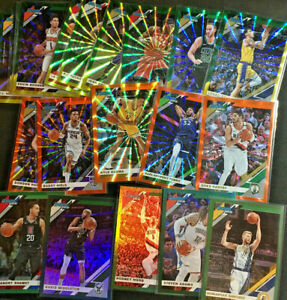 2019-20 Panini NBA Basketball Donruss Parallels Lazer 1-200 (Pick your card) BB