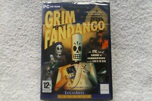 GRIM-FANDANGO-PC-CD-NEW-SEALED-adventure-amp-point-amp-click-puzzle-solving-game
