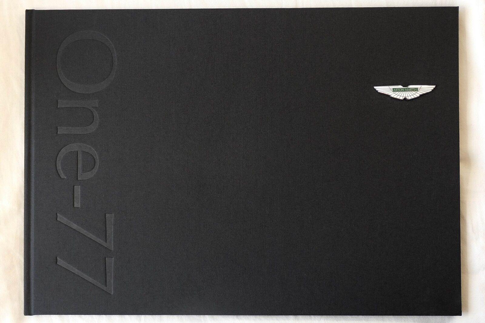 Aston Martin one-77 Owners Livre-extrêmement rare