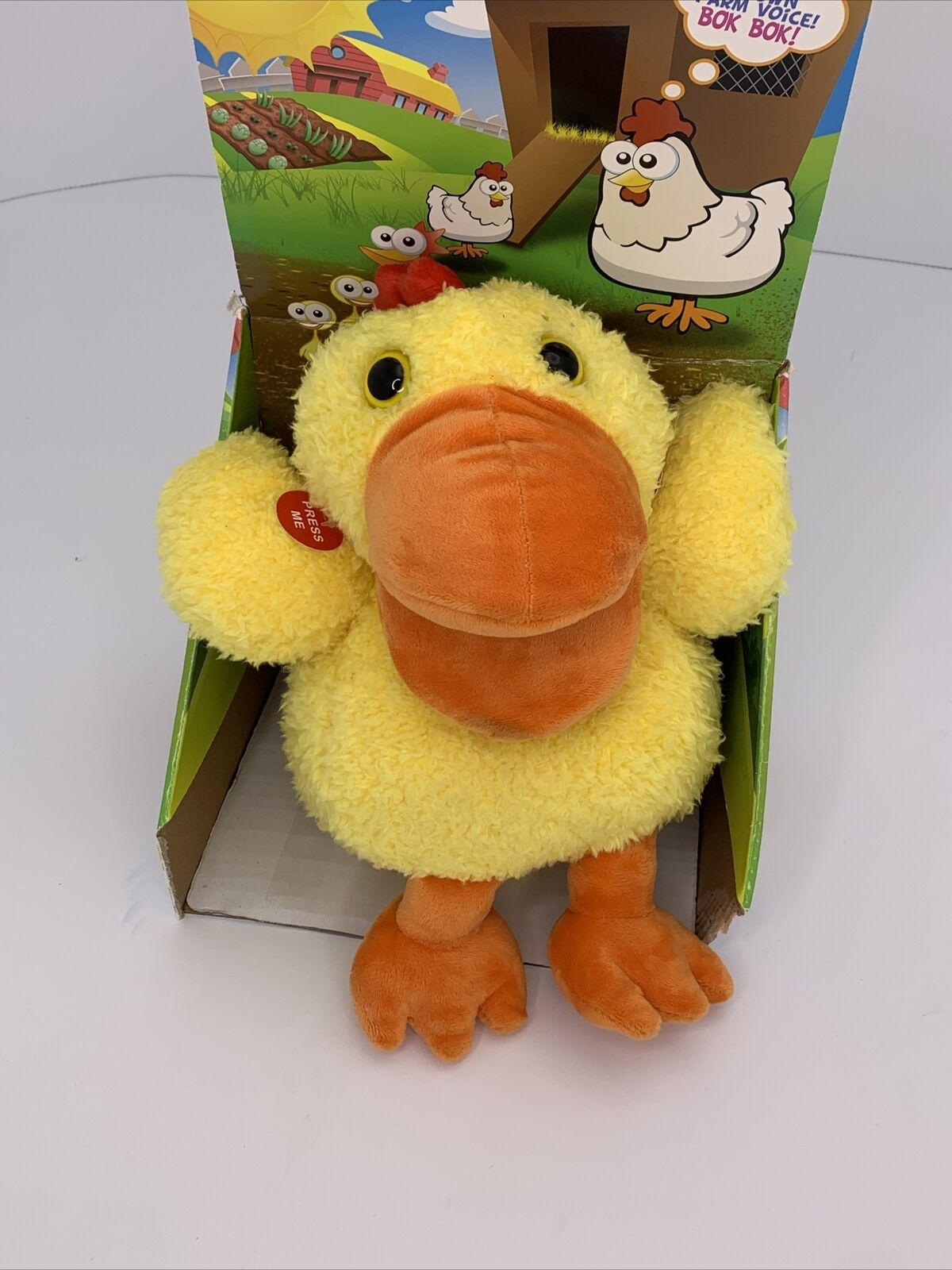 Mindscope Sing-A-Song Puppets Electronic Singing Chicken Puppet With Sounds