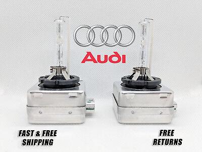 Factory Fit HID Xenon Headlight Bulbs For Audi A7 Quattro 2012-2015 High /& Low