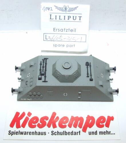 LO1042 Liliput H0 L 366053151 Gehäuse grau PZ 201 Wg2 Ersatzteil für Panzer Zug