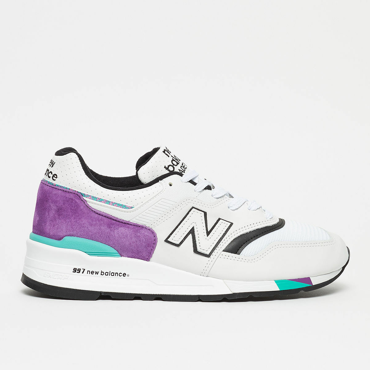 New balance M997WEA Jogging Shoe WHITE GRAPE Uomo US SIZES M997WEA