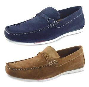 KüHn Silver Street Warren Suede Casual Loafer Boat Mens Slip On Shoes