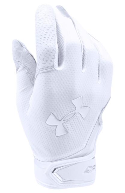 Under Armour UA Spotlight Adult Batting Gloves Style 1278206-100 Size M for sale online