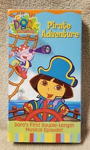 Dora The Explorer Pirate Adventure Vhs Video Tape 2004 Nick Jr