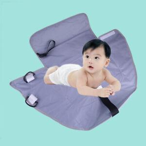 Imperméable Bébé Diaper Changing Mat Voyage Change Pad 3 En 1 Organisateur Sac Chaud Et Coupe-Vent