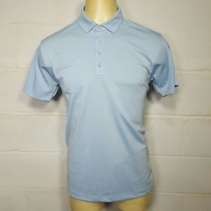 Matte-Grey-Haus-Of-Grey-Golf-Polo-Shirt-Mens-Large-L-Blue-Short-Sleeve
