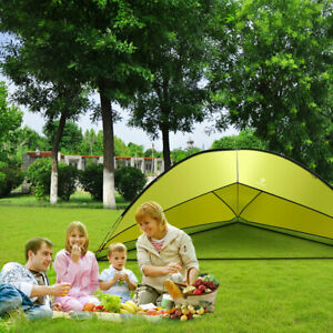 Outdoor-Portable-Family-Beach-Tent-Sun-Shade-Shelter-Camping-Hiking-5-8-person