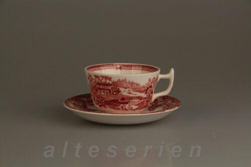 Kaffeetasse mit Untere Alfred Meakin Tonquin red rot