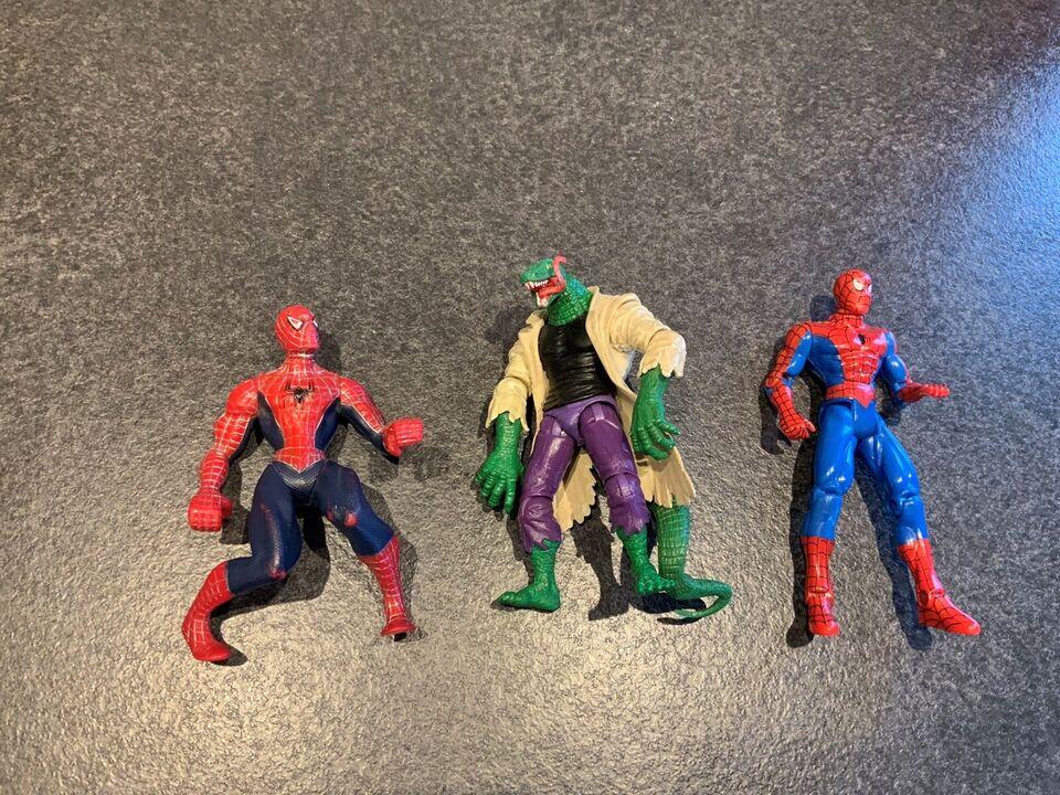 Spiderman og bat figurer, Marvel