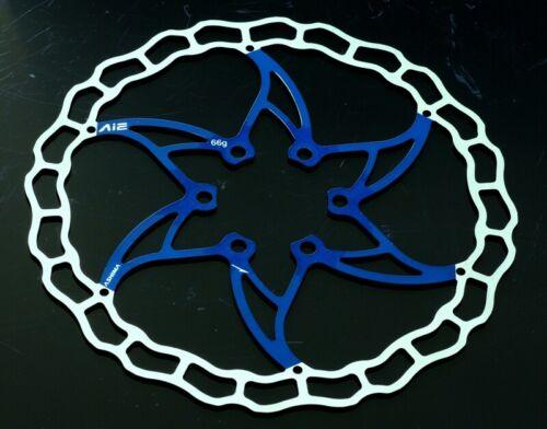 Bremsscheibe Ai2 140mm blau blue Rennrad Disc Gravel 64g Ashima ARO09 leicht