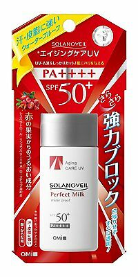 Sunscreen OMI SOLANOVEIL Perfect Milk Waterproof SPF50+ PA++++ UV Protector 40ml