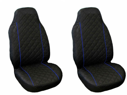 TEPEE BOXER EXPERT BIPPER BLUE PIPING Front Seat Cover Peugeot PARTNER