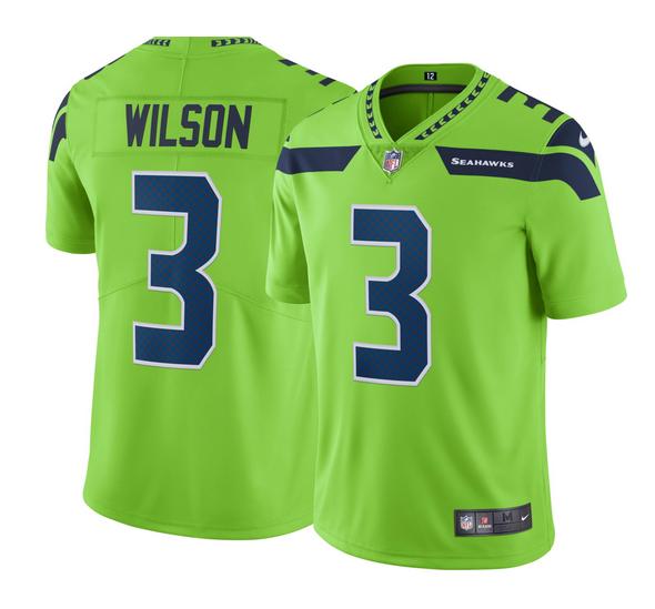 L Seattle Seahawks Nike Men/'s NFL Game Jersey NWD Wilson 3