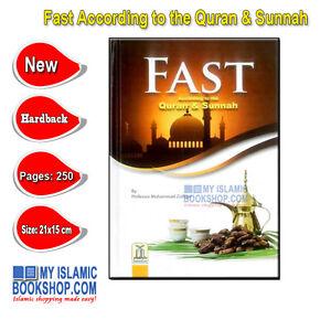 Fast-According-to-the-Quran-amp-Sunnah-Islamic-Muslim-Ramadan-Fasting-Book-Gift