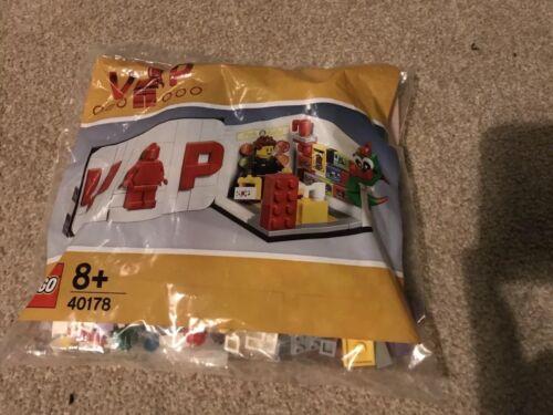 Lego Vip 40178 Mini Juego De Lego Store Exclusivo Totalmente Nuevo Y Sellado