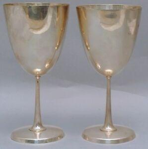 Set of Two Tiffany & Co. Sterling Wine/Kiddush Cups