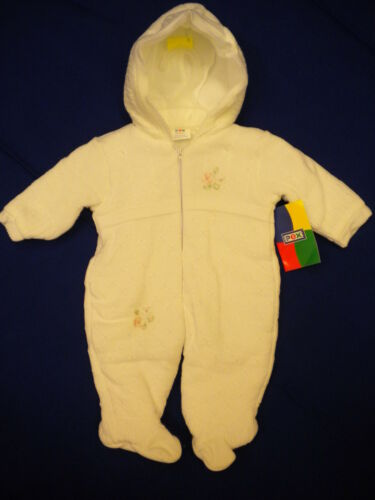 Fille bébé 100/% coton tricot combinaison de ski âge nouveau-né 6-12 mois par pex